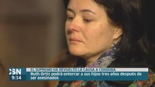 Ruth Ortiz podr� enterra a sus hijos