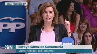 Santamar�a advierte que el Gobierno estar� atento a los movimientos de Mas