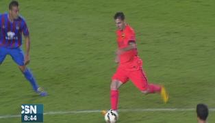 Goleada del Barcelona al Levante