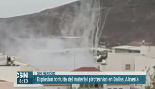 Explota un cohete en la Romer�a de Dal�as