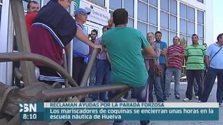 Protesta mariscadores coquinas