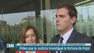 PSOE denuncia a Pujol