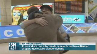 Periodista amenazado por la muerte de Nisman