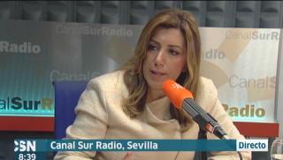 Susana D�az en Canal Sur Radio