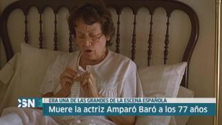 Muere Amparo Bar�