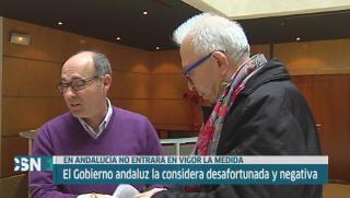 Gobierno andaluz pide no se aplique reforma