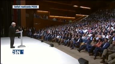 Homenaje a Benegas del PSOE