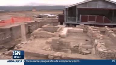 Hallan nuevos restos romanos en C�stulo