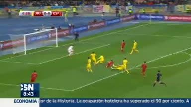 Ucrania 0-1 Espa�a