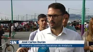 Juventudes socialistas respalda pol�tica Junta