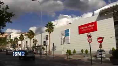 Susto en centro comercial de Granada