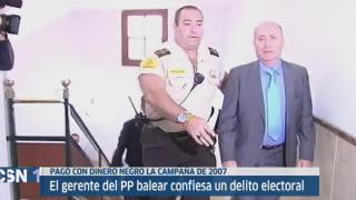 Condena a extesorero PP balear