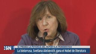 Svetlana Aleixevich, Nobel de Literatura