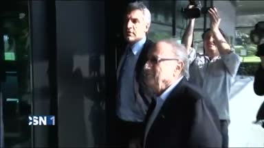 Blatter y Platini, suspendidos