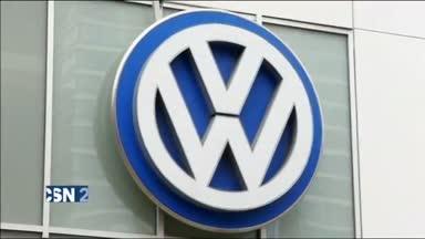 Registro en la sede de Volkswagen