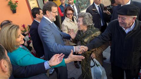 Rajoy en Tomares