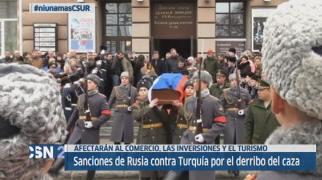 Rusia sanciona a Turqu�a