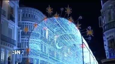 La Navidad comienza con luces