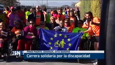Carrera solidaria discapacidad en Granada
