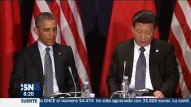 EEUU y China prometen en Par�s trabajar juntos