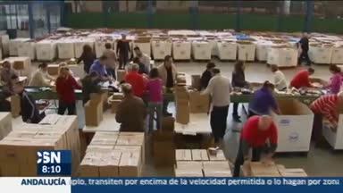 Recogidos 22 millones de kilos de alimentos