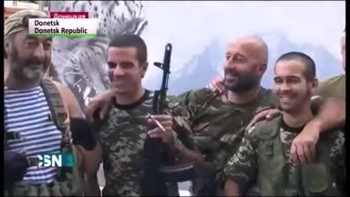 Ocho espa�oles detenidos por ir a la guerra de Ucrania