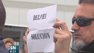 Protestas de los exDelphi en C�diz