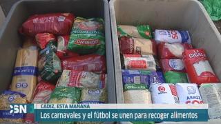 El Banco de Alimentos de C�diz recoge 10.000 kilos