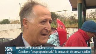 El alcalde de Tarifa se defiende