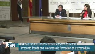 Posible fraude formaci�n Extremadura