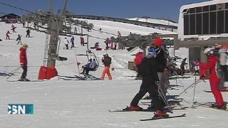 Sierra Nevada espera avalancha esquiadores