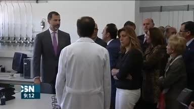 El Rey visita Persan en Sevilla
