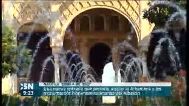 Entrada �nica para la Alhambra y el Albaic�n