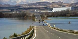 Ribaforada es una de las localidades navarras m�s afectadas por la riadas del Ebro producidas en los �ltimos d�as.