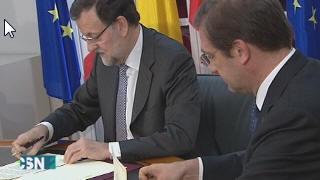 Encuentro Rajoy con Hollande y Passos Coelho