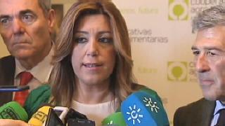 Susana D�az con los cooperativistas