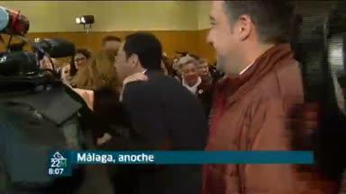 Moreno ped�a el voto en M�laga