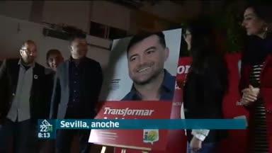 Ma�llo arranca la campa�a en Sevilla