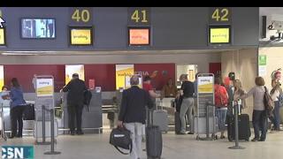 Mucho movimiento en estaciones de tren y aeropuertos