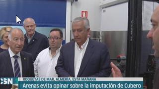 Javier Arenas visita Roquetas de Mar