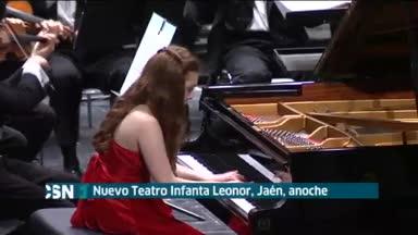 Artista de 16 a�os gana Premio J�en de piano