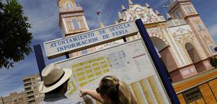 Sevilla ultima los preparativos de su Feria
