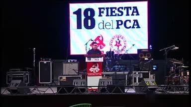 Ma�llo clausura fiesta del PCA en C�rdoba