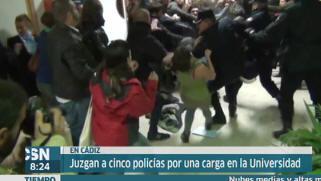 Juicio en C�diz por una carga policial