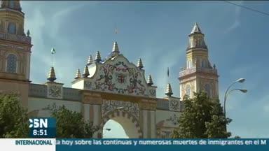 Ya huele a feria en Sevilla