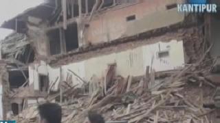 Centenares de muertos en Nepal