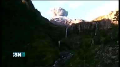 Entra en erupci�n el volc�n Cabulco de Chile