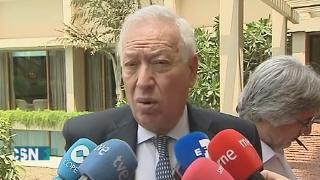 Margallo trabaja en la repatriaci�n de espa�oles