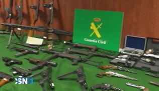 Detenidos por venta ilegal de armas