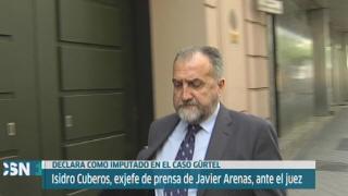 Declara exjefe prensa Arenas